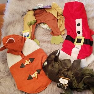 4 dog outfits
